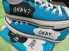 The Fault in Our Stars 'Okay?' shoes