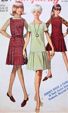 4f35c1bb55 193 Best 40 s 50 s 60 s 70 s Dress Patterns images in 2019