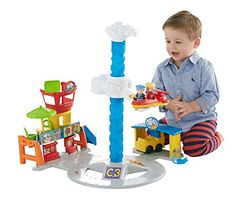 Fisher-Price Little People Spinnin' Sounds Airport Fisher-Price http://www.amazon.com/dp/B00VJKT11E/ref=cm_sw_r_pi_dp_J6Wzwb0W2R6SA