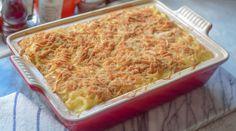 Bestmors skinke og blomkålgrateng - nostalgi og glede! | Gladkokken Swedish Recipes, Lasagna, Macaroni And Cheese, Nostalgia, Food And Drink, Pasta, Baking, Healthy, Ethnic Recipes