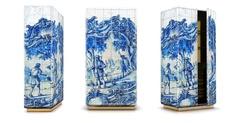 Portuguese Tile Cabinet