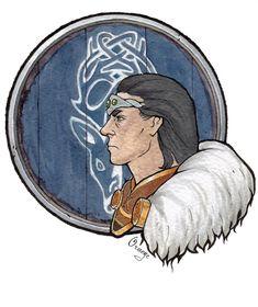Skyrim Jarl of Falkreath Eso Skyrim, Skyrim Gif, Elder Scrolls Games, Elder Scrolls Skyrim, Video Game Art, Video Games, Geek Girls, War Machine, Concept Art