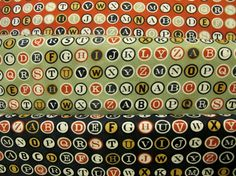 Circa 1934 Cosmo Cricket Letters