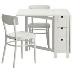 Mesa con alas abatibles para 2 a 4 personas