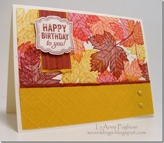 Stampin Up Magnificent Maple