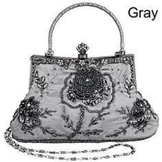 Belsen Vintage Wedding Beaded Sequin Rose Flower Evening Bag | LightInTheBox