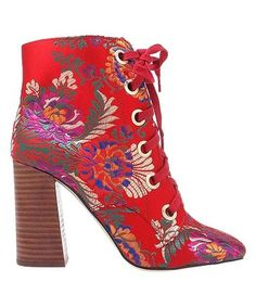 This Red Luella Ankle Boot is perfect! #zulilyfinds