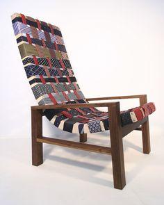 DIY idea: necktie chair