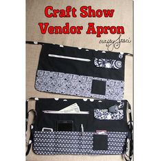 Tutorial: Craft Show Vendor Apron