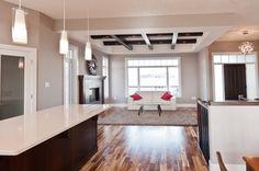 Open Floor Plan Open Floor, Living Spaces, Floor Plans, Flooring, How To Plan, Table, Furniture, Home Decor, Decoration Home