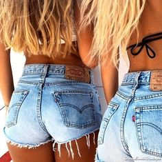 Levis: High Waisted Shorts / SexyLook For by DirtySouthVintagee