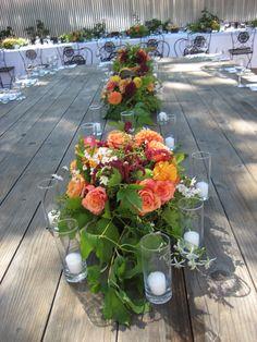 Wedding At Barndiva Flowers By Dragonfly Fl