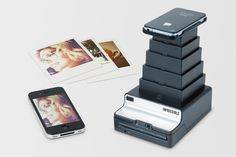 From digital back to analog (ok well print aka as in Polaroid like prints) with impossible instant lab.