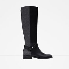 Image 1 of COMBINED HIGH BOOTS from Zara