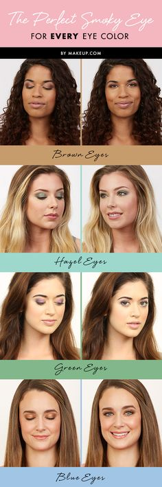 The Perfect Smoky Eye for Every Eye Color