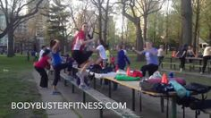 Body Buster Fitness is the first fitness bootcamp business to run successful group fitness bootcamp programs in High Park, Toronto.  http://www.BodyBusterFitness.com http://www.BodyBusterFranchise.com  This Bloor West Body Buster Fitness training program is available at various locations both outdoor and indoor year around. Morning and evening classes are available to both men and women of all fitness levels.