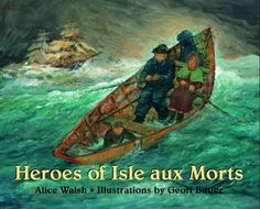 X - Heroes of Isle aux Morts by Alice Walsh (Tundra 2001 - OP)