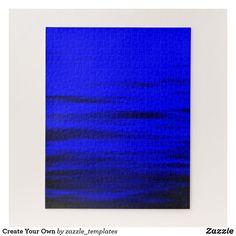 """Luminous Blue Puzzle, 16"""" x 20"""", 520 pieces"""
