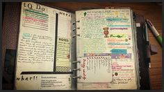 Second part of week 17 - lots of great pictures here - she has fun with her planner
