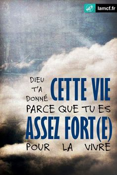 Dieu t'a donné Prayer Quotes, Scripture Quotes, Bible Verses, Citation Encouragement, Positive Attitude, Positive Quotes, Citation Pinterest, Life Words, Praise The Lords