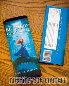 Brave Chocolate Bar - Brave Party @ http://www.nothingbutcountry.com