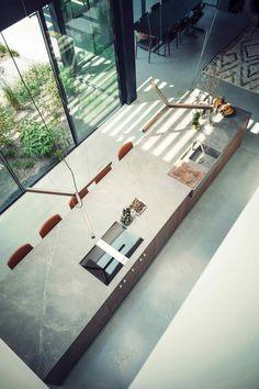 Eginstill – suburban villa Amsterdam – Kitchen decor ideas - Home Decor ideas Interior Design Inspiration, Home Interior Design, Exterior Design, Interior Architecture, Interior And Exterior, Casa Kardashian, Küchen Design, Design Styles, Design Trends