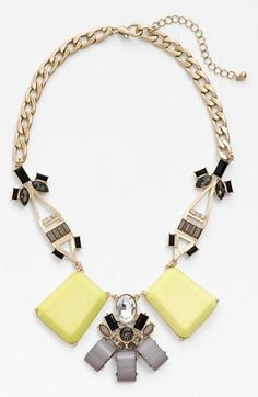 Cara art deco necklace … Want it? Add it to your WishPIKS $48.00