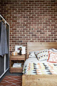 I love brick walls!