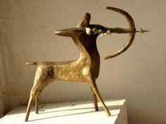 """Saatchi Art Artist Antonina Fatkhullina; Sculpture, """"centaur"""" #art"""