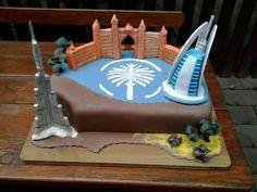 Dubai cake