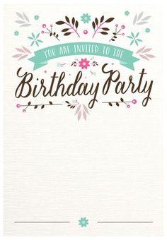 Birthday Party Invitation Free Printable Addisons 1st birthday