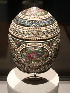 The 'Mosaic' Imperial Easter Egg by Carl Faberge
