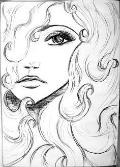 Sketch of Sadness