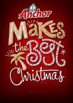 Anchor Christmas - Luke Lucas – Typographer | Graphic Designer | Art Director