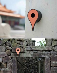 Google Birdhouses    Designer Shuchun Hsiao has created a series of birdhouses modeled after the Google Maps destination icon, and placed them all over urban locations in China.