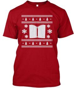 Bookish Ugly Christmas Jumper