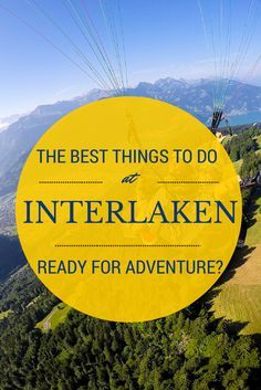 I love Interlaken, I want to go back so bad.