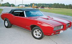 '69 Pontiac GTO Convertible. Awesome American Muscle Car!