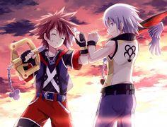 Sora and Riku :3