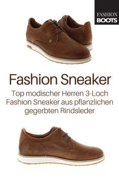 3f702039b04af6 Rehab NOLAN PERFO Dark Cognac Fashion Sneaker - braun
