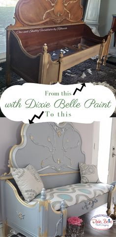 We would love to teach you how to paint furniture Blue Painted Furniture, Painted Chairs, Distressed Furniture, Paint Furniture, Furniture Projects, Recycled Furniture, Furniture Makeover, Chalk Paint Tutorial, Crackle Painting