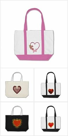 St Valentine's Day Tote Bags