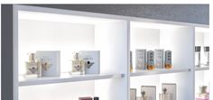 Strip lights have multipurpose uses in showroom cloves, shelves, skirtings and more. Ambient Lighting By Hafele