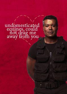 Stargate SG-1 Valentines. Bahahaha