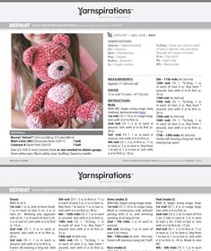 Diy Crochet Amigurumi, Crochet Teddy, Knit Or Crochet, Crochet Crafts, Crochet Dolls, Crochet Baby, Crochet Projects, Crochet Ideas, Crocheted Toys