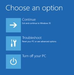 Advanced startup options in Windows 10 | Cloudeight Information Avenue