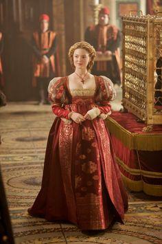 Holliday Grainger as Lucrezia Borgia in The Borgias