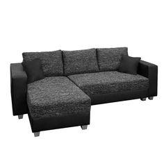 Ecksofa grau mit schlaffunktion  Big-Sofa, wahlweise mit RGB-LED-Beleuchtung | Big sofas and Big