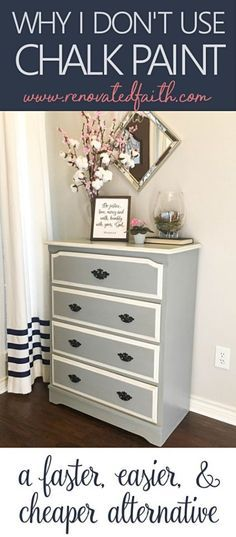 Why I Don t Use Chalk Paint on Furniture - Best Latex Paint for Furniture! ec3b3ae472b7