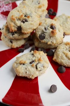 Gluten-free almond meal chocolate chip cookies